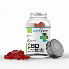 CBD Pills With Curcumin Bottle
