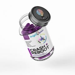 Crash & Reboot Nootropic Bottle