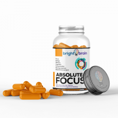 Absolute Focus Nootropic Bottle Front