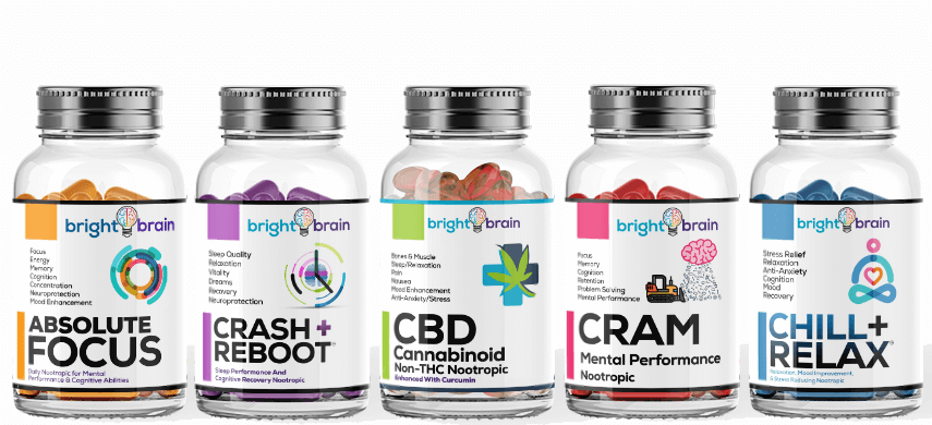 Brain Brain Nootropic and CBD Products